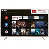 TCL 163.8 cm (65 Inches) 4K UHD Certified Android Smart LED TV L65P2MUS (Gold)