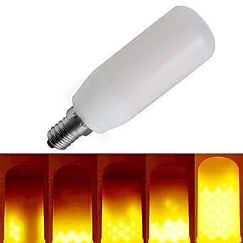 Flame Bulb Kindeep E14 Burning Effect Fire Light Bulbs Simulated Decorative Light Atmosphere