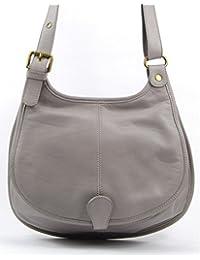 OH MY BAG Sac à main bandoulière porté de travers CUIR souple femme Modèle M Nouvelle collection