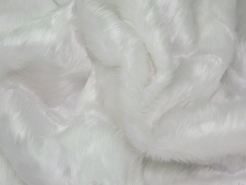 60-wide-plain-short-pile-fur-fabric-white-per-metre-by-quality-fabrics