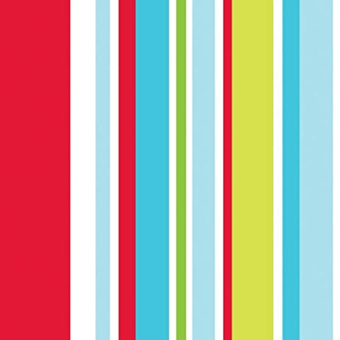 Graham & Brown Paper Long Island Stripe Kids @ Home IV Fleece Wallpaper–74099