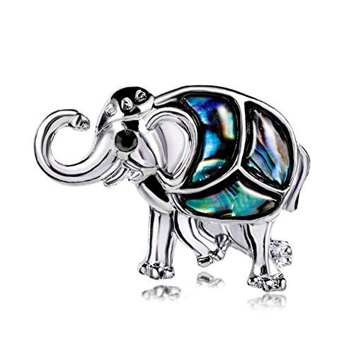 youjiu Deciracion Regalos Adornos Habitacionwilder Zarter Elefant-Boutonniere