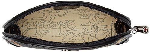 piero guidi 205l74088, Organizer Borsa Donna, 20x12x4 cm (W x H x L) Nero (Nero Profondo)