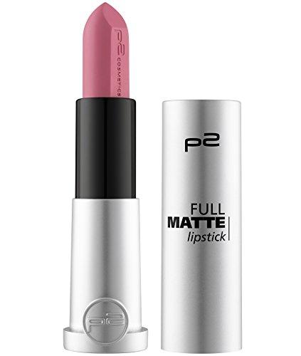 Make-up Matte Lipstick (p2 cosmetics Full Matte Lipstick 050, 3er Pack (3 x 5 g))