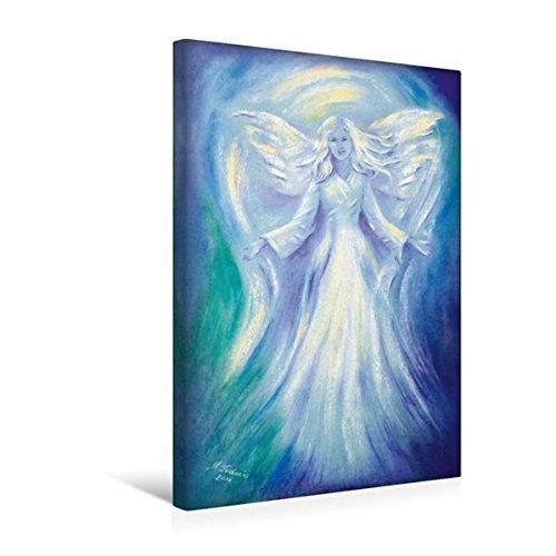 Calvendo Premium Textil-Leinwand 30 cm x 45 cm hoch, Engel der Liebe | Wandbild, Bild auf Keilrahmen, Fertigbild auf Echter Leinwand, Leinwanddruck Glaube Glaube