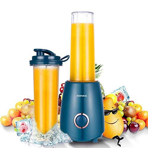 IMK Entsafter Zentrifugaler,Portable Mini Electric Juicer Small-Scale Fruit Juice Processor Extractor Blender Smoothie