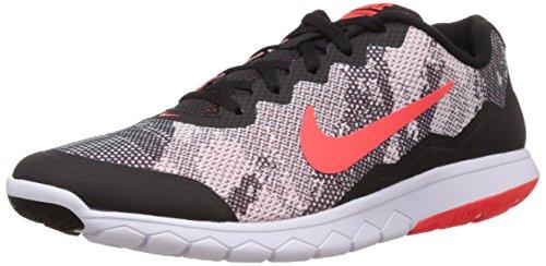 Nike Flex Experience Rn 4 Prem, Chaussures de Sport Homme multicolore (Black/Bright Crimson-White)