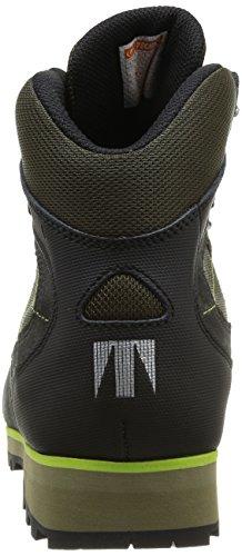 Tecnica Herren Makalu III GTX MS Wandern Schuhe, Braun Dunkelgrün