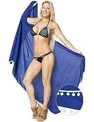 base de rayonne maillot plage jupe bikini beachwear couvrir les maillots de bain enveloppement paréo