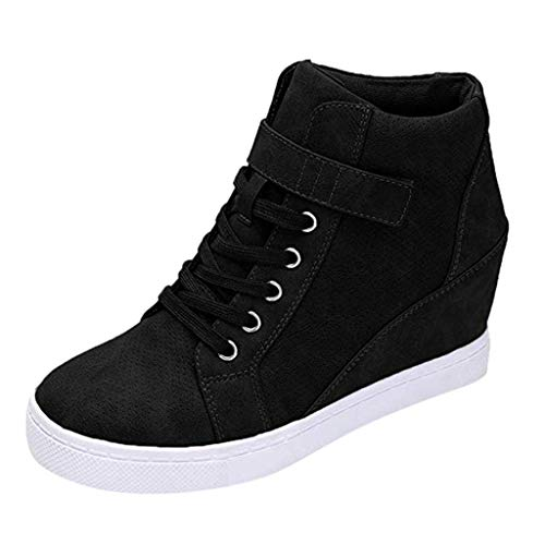 Zapatillas para Mujer Otoño Invierno JORICH Zapatillas de Plataforma Cuña Deportivo para Mujer Zapatilla...