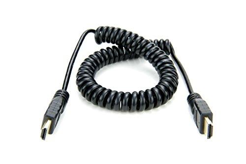 Atomos ATOMCAB011 HDMI Spiralkabel (Full HDMI auf Full HDMI) Coiled Audio