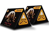 Samosa Singh Chocossa Zesty Orange - Pack of 2, 8 Pouches