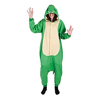 Crocodile - Adult Onesie Costume Adult - One Size