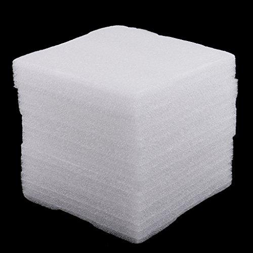 Sharplace 5er Set Schaumstoff Unterlage zum Filzen 15 x 20 x 3 cm – Weiß, 15x20mm