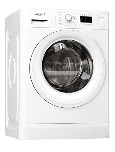 Whirlpool FWL71253W IT Freestanding Front Load 7kg 1200RPM A+++ White Washing Machine - Washing Machines (Standalone, Front Load, White, Buttons, Rotating, Left, LED)