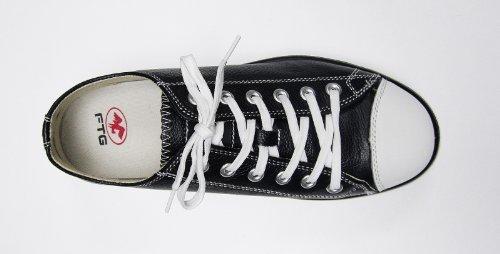 FTG Sicherheitsschuhe Music Soul Low S3 SRC, Sicherheitsschuh Sneaker schwarz Schwarz/Weiß