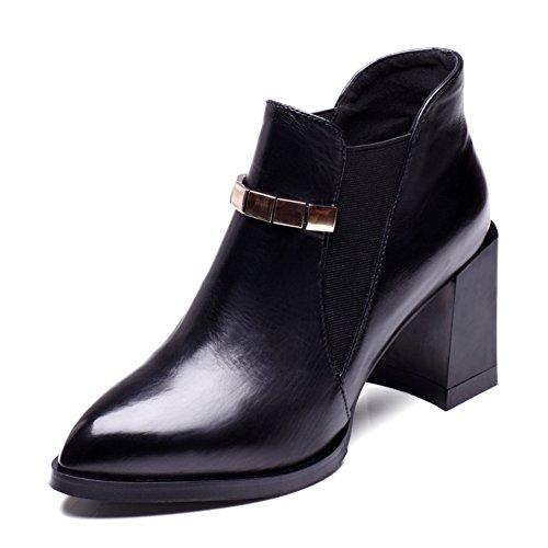 Automne et hiver dames talons/ bottes pointues Martin/ évasée boot A