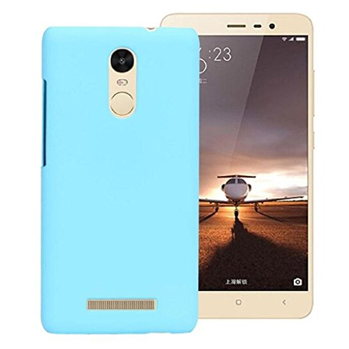 Chevron Flexi Matte Hard Case Back Cover For Xiaomi RedMi Note 3 (Light Blue)  available at amazon for Rs.99