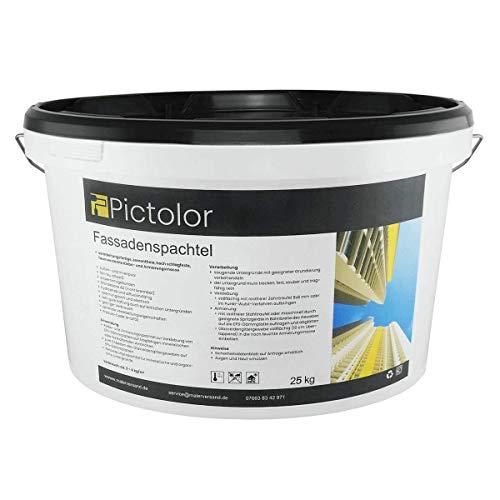 Pictolor Fassadenspachtel 25kg – Spachtelmasse – Spachtel – außen - verarbeitungsfertig