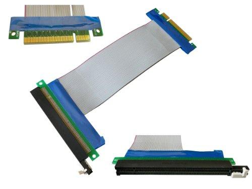 Kalea-Informatique ©-Riser Adattatore PCI Express PCI-E 16X verso PCIe 8X-Prolunga