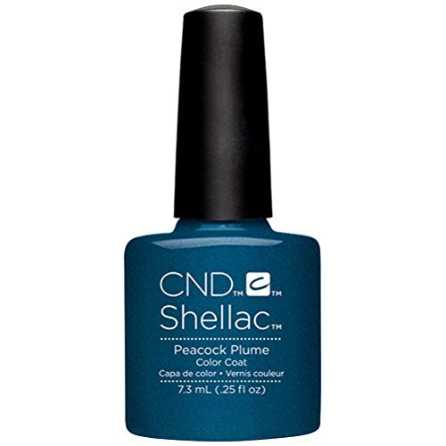 CND Shellac Vernis à ongles Vernis gel – Automne 2015 – Collection Contradictions – 90860 Plume de paon – 7.3 ml par CND Cosmetics