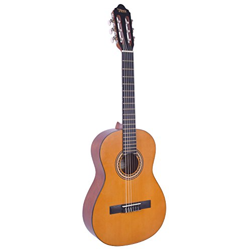 Valencia VC203NA Konzertgitarre in 3/4-Größe, Natur, inkl. Gigbag