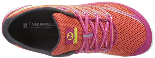 Merrell All Out Charge, Chaussures de Trail Homme CORAL/FUCHSIA
