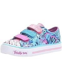 Twinkle Toes By Skechers S Light Shuffles Sweet Spirit Jovenes US 1