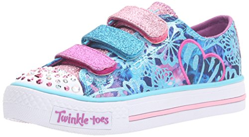 Twinkle Toes By Skechers S Light Shuffles Sweet Spirit Mädchen US 1.5