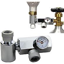 mangobuy Sodastream CO2-Zylinder Refill Adapter Anschluss Messing Homebrew Kit für Füllung Soda Stream Tank