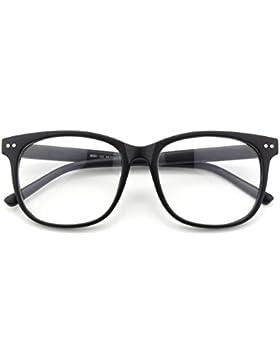 CGID CN81 Retro Clubmaster Wayfarer Anteojos Lente Claro Gafas Para Mujer y Hombre