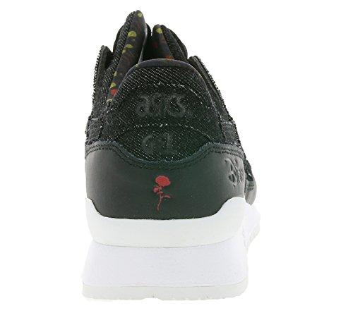 41IuDB%2B9CAL - ASICS Gel-Lyte III Disney Women´s Sneaker Black H70PK 9090