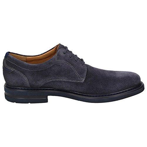 Sioux 33922, Chaussures Pour Hommes Bleu Foncé