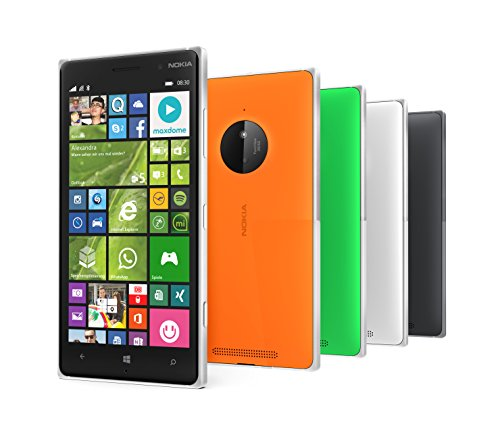 Nokia Lumia 830 - Smartphone libre Windows Phone  pantalla 5   16 GB  1 2 GHz  Qualcomm Snapdragon  1 GB   negro