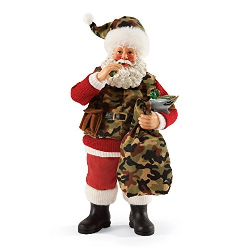 Department 56 Possible Dreams Christmas Santa's Camo Claus Figurine by Department 56 -