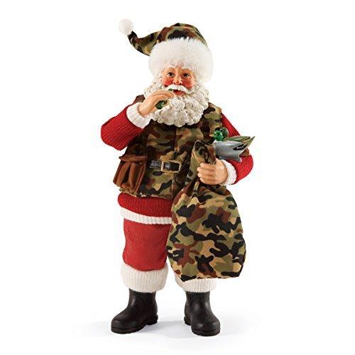 Camo Santa (Department 56 Possible Dreams Christmas Santa's Camo Claus Figurine by Department 56)