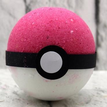 Bola de baño Pokémon de 200 g con miniatura de Pokémon de regalo en su interior, regalo ideal de cumpleaños, Navidad, etc, diversos aromas por LBS4ALL