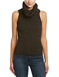 Free People Womens Ribbed Knit Sleeveless Tank Top Sweater