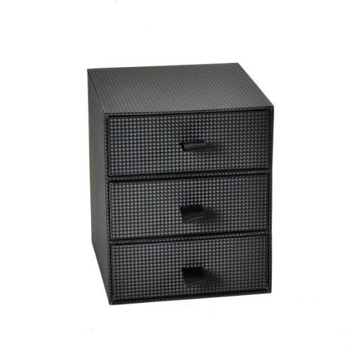 Schubladenbox Sirio schwarz