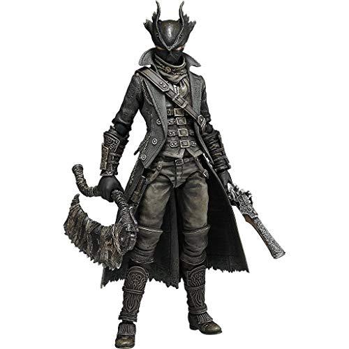 Siyushop Bloodborne: Hunter Figma-Actionfigur - einschließlich mehrerer Ausdrücke - Hohe 15CM -