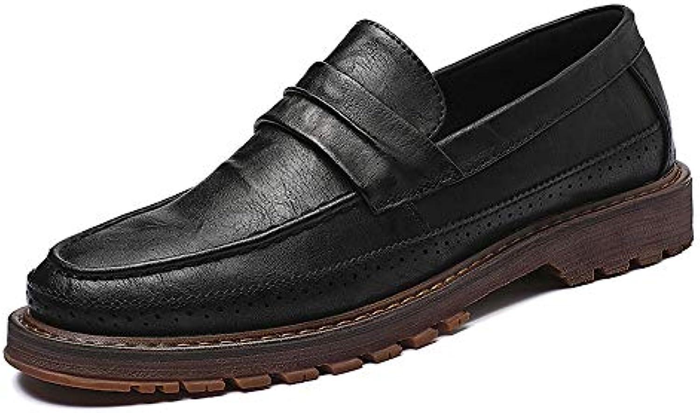 Hongjun-scarpe Scarpe Uomo 2018, Suola Semplice e Flessibile da Uomo Martin Formal Business Oxford Scarpe Classiche... | Nuove varietà sono introdotte  | Scolaro/Ragazze Scarpa