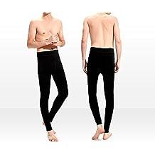 Pack de 3 leggins para hombre MEGGINS con interior de felpa para el invierno