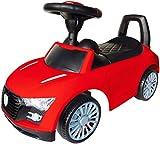 Playland Rutschauto Kinderauto Hupe Sound-Funktion Flüsterreifen Farbwahl (rot)