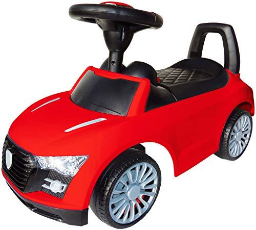 Playland - Clacson per Auto per Bambini, con Funzione Suono, Pneumatici silenziosi, Colori Assortit