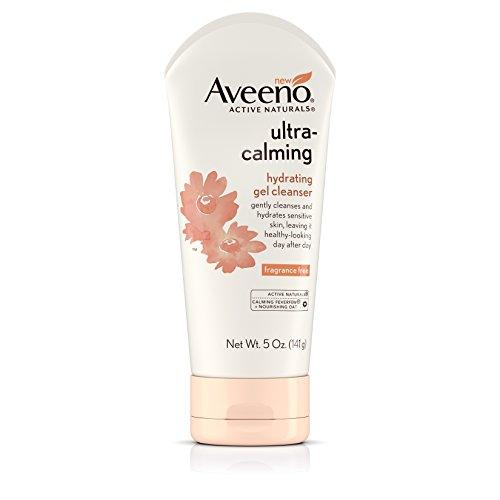 Aveeno ultra-calming Hydrating Gel Gesichtsreiniger für trockene und empfindliche Haut, 5oz 5Unze