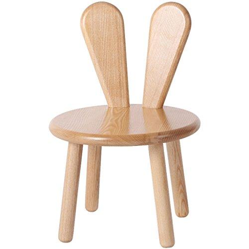 Lapin Oreilles Petit Banc, Enfants Personnels & AdulteWooden Home Furniture Tabouret Amovible Écologique Amovible