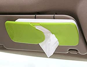JT ENTERPRISE Auto Accessories Car Sun Visor Box Paper Napkin Holder with Tissue(Multicolor)