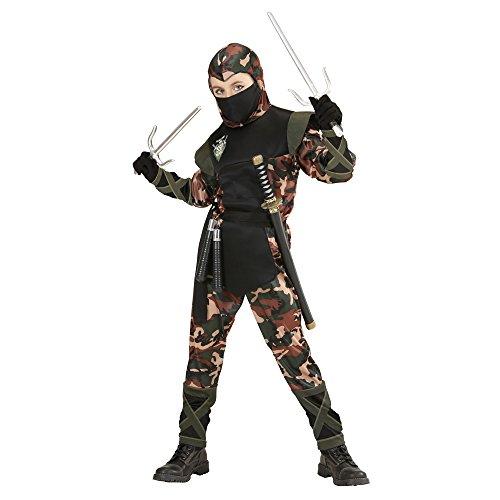 WIDMANN Kinderkostüm Soldat Ninja