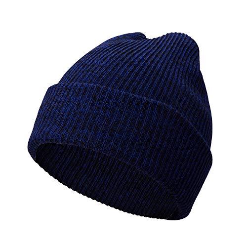 A.P. Donovan - Herren Wintermütze aus Baumwolle | Wintermütze Strickmütze | Wollmütze Beanie (Blau)