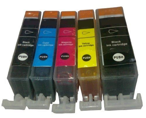 20 cartouches d'encre avec puce compatibles remplacent Canon PGI 5 BK, CLI 8 BK, CLI 8 C, CLI 8 M, CLI 8 Y, compatibles avec Canon Pixma : MX700 ; MX850; MP500 ; MP510 ; MP520 ; MP530 ; MP600 ; MP600R ; MP610 ; MP800 ; MP800R ; MP810 ; MP830 ; MP950 ; MP960 ; MP970 ; Pro9000 ; IX4000 ; IX5000 ; IP3300 ; IP3500 ; IP4200 ; IP4300 ; IP4500 ; IP5200 ; IP5200R ; IP5300 ; IP6600 ; IP6700D
